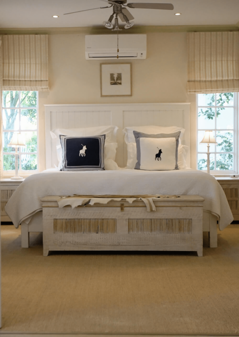 Luxury Suite bed with Ralph Lauren scatter cushions